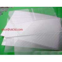 Buy cheap OK3D lens lenticular factory sell 70LPI PET 0.9MM 60X80CM for 3d lenticular printing by injekt print and UV offset print product