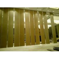 Buy cheap 4m Height Operable Acoustic Sliding Partition Walls MDF Board + Aluminium Material from wholesalers