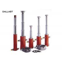 Buy cheap Single Acting Multi Stage Telescopic Hydraulic Cylinder Anti Rust Painting Trademark from wholesalers