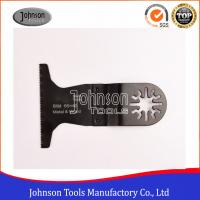 Buy cheap 65x40mm BIM Bi-Metal oscillating multitool saw blade, quick blade for metal and wood from wholesalers