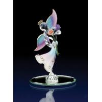 Buy cheap spun glass angel with red heart from wholesalers
