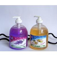 Buy cheap PE / PVC Anti Bacterial 500ml Antibacterial Hand Sanitizer with Lemon Essential Moisture from wholesalers