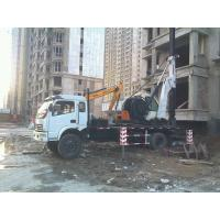 Buy cheap Construction machinery:hydraulic drilling and piling rig from wholesalers