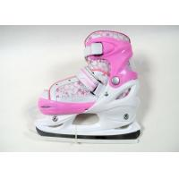 Buy cheap Kid's / Boy's Adjustable Ice Skating Shoes Blue / Pink High Level Fashion Ice Skates from wholesalers