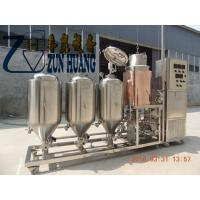 Buy cheap 50L-100 L micro brewing equipment,mini home brew machine for home from wholesalers