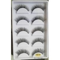 Buy cheap Popular style and good quality wholesale 3d synthetic false eyelash lashes for sale from wholesalers