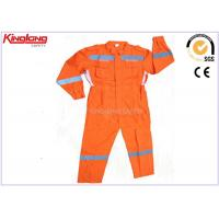 Buy cheap Customized Anti Shrink Plus Size Coverall Uniforms Hi Visibility Clothing from wholesalers