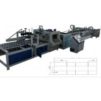 Buy cheap Automatic Folder Gluer Sticther Strapping Inline Machine, Corrugated Carton Box from wholesalers