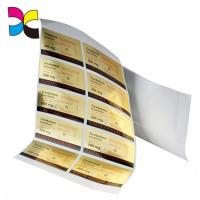 Buy cheap Custom Printed Product Personalized Gel Adhesive Sticker Label from wholesalers