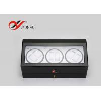 Buy cheap Modern Style 3 Watch Packaging Box Luxury Lacquer Wood Material With Drawer from wholesalers