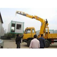 Buy cheap Small Truck Mounted Crane Max Working Height 6.55 Meter , Construction Lifting Machinery from wholesalers