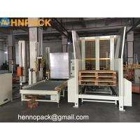 Buy cheap Hennopack manufacturer Full automatic pallets dispenser of robot palletizer dispenser can store 10 to 25 pcs pallets, from wholesalers