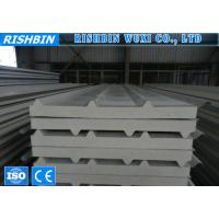 Buy cheap Insulated pu foam sandwich panels , Roll Forming Products for steel structure plant from wholesalers