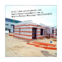 Buy cheap Manufacturer Supplier Aluminum Construction Form Work For Concrete Staircase/GETO Aluminum Formwork/aluminium profile from wholesalers