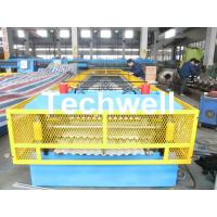 Buy cheap Steel Silo Wall Sheet Corrugated Roll Forming Machine for Silo Side Panel from wholesalers