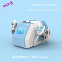 Buy cheap 5in1 Cryolipolysis VelaShape Lipolaser Cavitation Five-polar RF beauty equipment from wholesalers