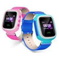 Child Smart Watch with 2G modem, Micro SIM card, 1.0 inch Screen, LBS location, Healthy pedometer, Voice Chat etc.