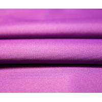 Buy cheap Purple Oxford 600d Nylon Fabric , Plain Dyed Water Resistant Nylon Stretch Fabric from wholesalers