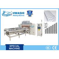 Buy cheap Automatic Dual Layer Wire Basket Cable Tray Making Machine Two Phase 380V from wholesalers