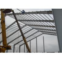 Buy cheap Lightweight Industrial Steel Structures , Shock Resistant Steel Structure Fabrication With Space Frames product