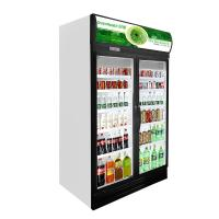 Buy cheap Self - Closing Glass Door Freezer 1280*695*2120 Mm Low - Energy Consumption from wholesalers