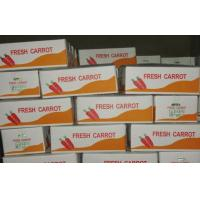Buy cheap Big Fresh Sweet Red Organic Carrot Contains Ruddy Carrot Pulp , Long Shelf Life from wholesalers