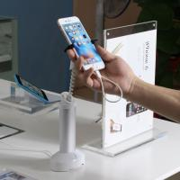 Buy cheap COMER countertop display stands for gsm phone shops anti-theft alarm charging cell phone retail shop security from wholesalers