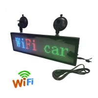 Buy cheap Wifi 4G USB Control Led P6 P8 P10 Car Window Display Screen from wholesalers