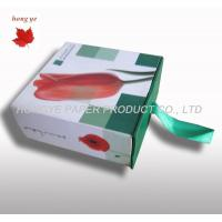 Buy cheap Square Flower Packaging Boxes , Cardboard Gift Boxes With Ribbon from wholesalers