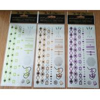 Buy cheap Professional Temporary metallic body tattoo long lasting for women Gift from wholesalers