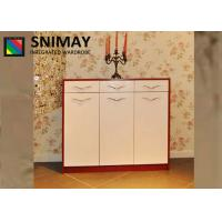 Buy cheap Eco Large Modern MDF Shoe Storage Cabinets with doors , E1 Grade from wholesalers