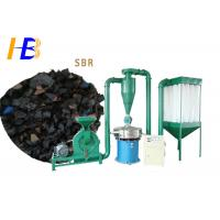 Buy cheap Dust Collection SBR Scrap Grinder Machine For Polymerized Styrene Butadiene from wholesalers