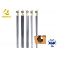 Buy cheap 2 Flutes Carbide Ball End Mill Tungsten Tapered Ball Nose End Mill Wear Resistance from wholesalers