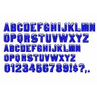 Buy cheap Custom Embroidery fonts Igloo Laser96 design DST Formats from wholesalers