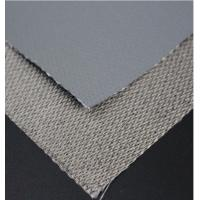 Buy cheap Single Side Silicone Coated Glass Fiber Fabric Insulation Fire Resistant Silicone Rubber Sheet from wholesalers
