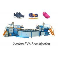 Buy cheap Horizontal  EVA Shoe Injection Molding Machine For Footwear / Outsole from wholesalers
