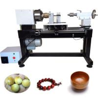 Buy cheap Full automatic single spindle cnc mini wood lathe wooden beads making machine from wholesalers