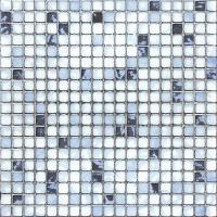 Buy cheap Kitchen Crystal Glass Mosaic Tiles 0 X 30 Cm Metal Glazed / Interior Wall Tiles from wholesalers