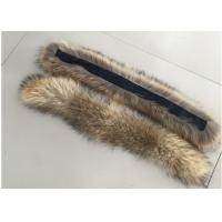 Buy cheap Natural Colour Warm Raccoon Fur Collar Eco Friendly For Hood Kids Parka from wholesalers