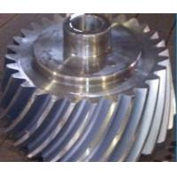 Buy cheap High quality custom design 45 grade spiral bevel gear with high precision made in China from wholesalers