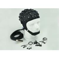 Buy cheap Customized Channel EEG Skull Cap , Clinical EEG Hat 2 Different Material from wholesalers
