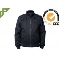 Buy cheap 100% Cotton Black Military Tactical Jackets Soft Shell Windproof Washed from wholesalers