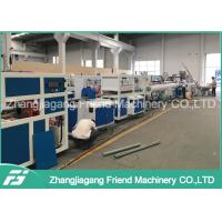 Buy cheap Water Supply HDPE PP Plastic Pipe Machine With PVC Powder Raw Material from wholesalers