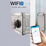 Buy cheap Electric Keyless Rim Gate Cabinet Waterproof IP65 Smart WIFI Door Lock from wholesalers