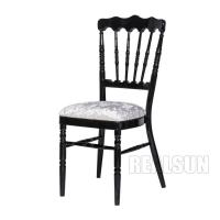 Buy cheap Restaurant Furniture Type Imitate Wooden Napoleon Chair Event Banquet Rental from wholesalers