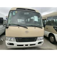 Quality TOYOTA Used Coaster Bus With 16-30 Seats Diesel Engine & Gasoline Engine for sale