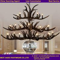 Buy cheap Decorative Light Vintage Wooden Pendant Lighting With Natural Wood Color from China Agent from wholesalers
