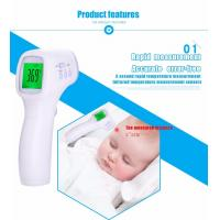Buy cheap Human Body Digital Lcd Infrared Thermometer / Non Contact IR Temperature Measurement Gun Meter from wholesalers