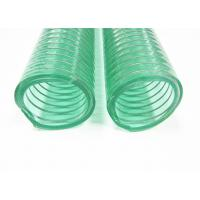 Buy cheap Reinforced Spiral Suction PVC Steel Wire Hose Pipe 1 Inch - 4 Inch Specification from wholesalers