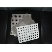 Buy cheap Perforated Metal Ceiling Tiles Perforated Aluminum Panels Square / Rectangle from wholesalers